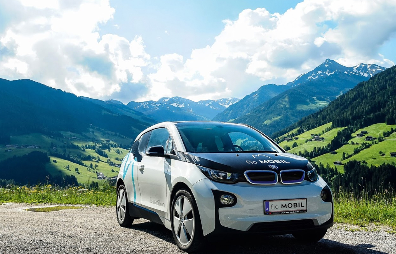 Smartes eCarsharing aus Tirol in neuem Look & Feel