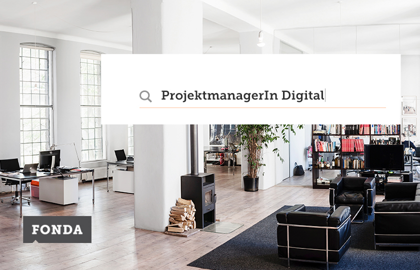 Projektmanager/in Digital gesucht